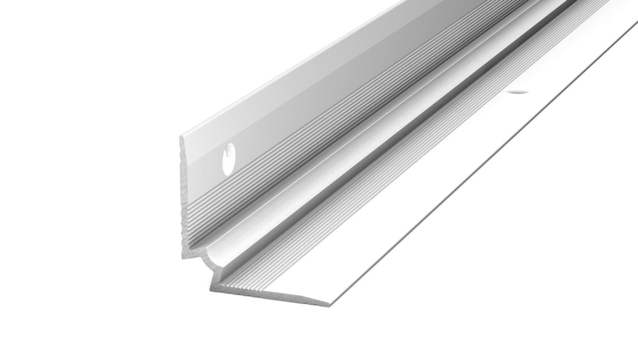 Prinz Treppenkanteninnenwinkel - 25 x 25 mm - silber | Baumarkt > Leitern und Treppen > Treppen | Prinz