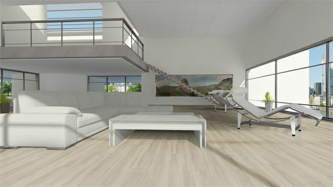 vinylboden sonderposten eiche creme 514m klick vinyl landhausdiele. Black Bedroom Furniture Sets. Home Design Ideas