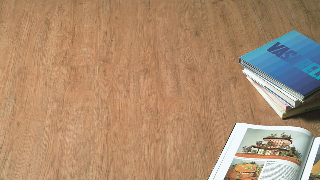 kwg vinylboden antigua classic eiche rustikal klebevinyl landhausdiele 1 stab. Black Bedroom Furniture Sets. Home Design Ideas