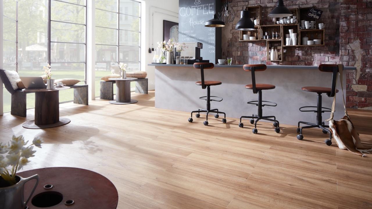 planeo objekt markham oak light klick vinyl vinylboden. Black Bedroom Furniture Sets. Home Design Ideas