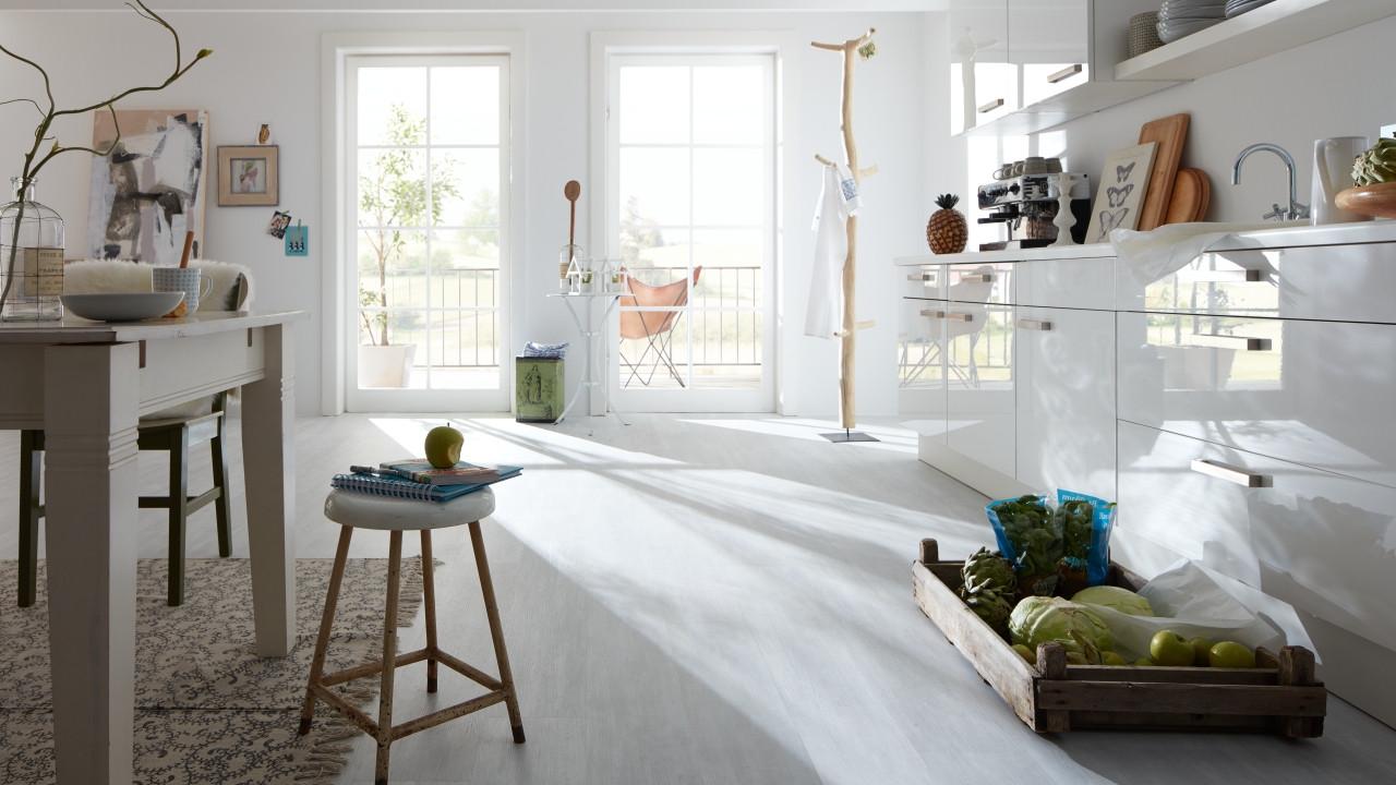 planeo zuhause - vintage snow - klick-vinyl - vinylboden