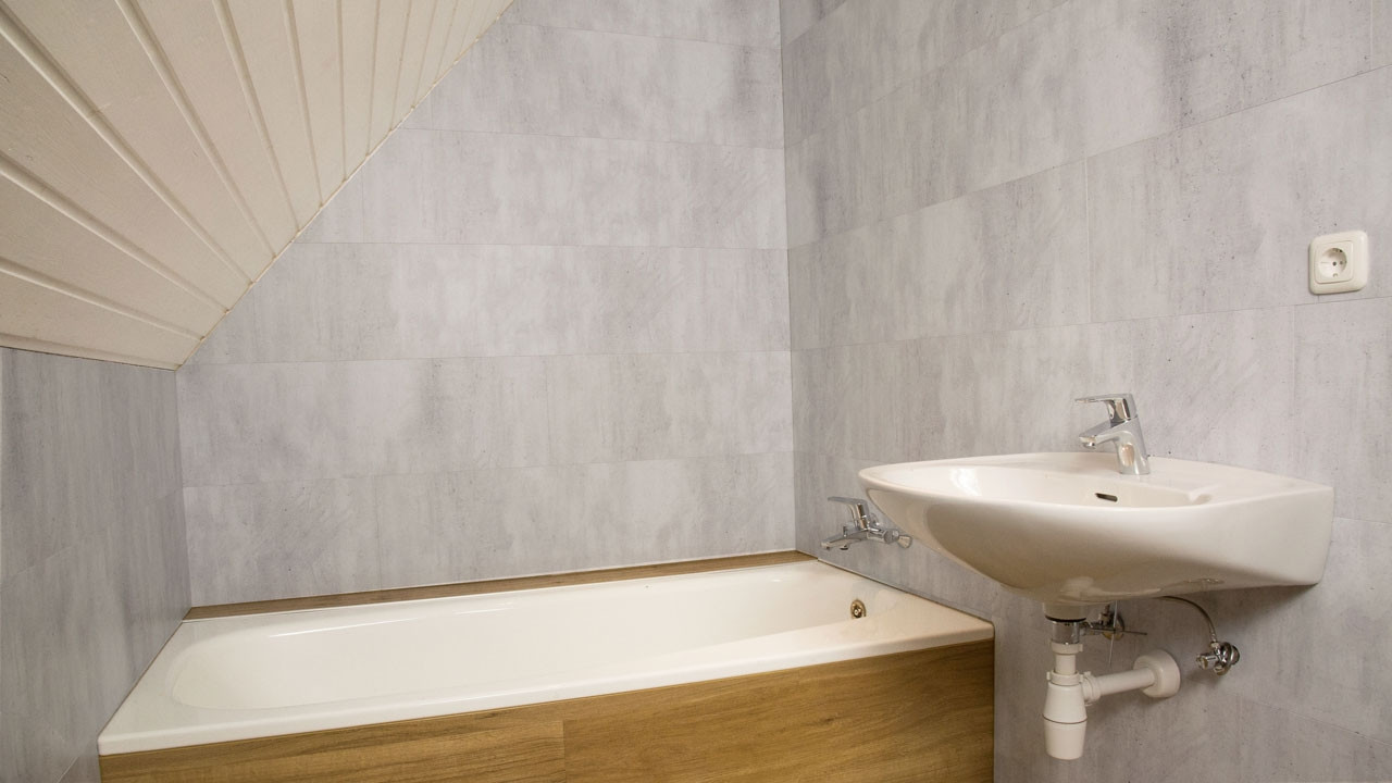 Beton Wandverkleidung planeo wandverkleidung wandpaneele beton hell 1200 x 300 x 4 mm