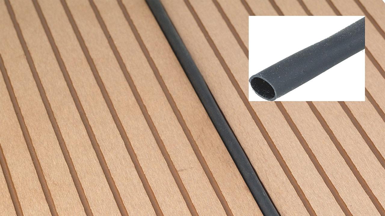 planeo fugendichtungsschlauch f r wpc terrassendielen 100m rolle terrassen zubeh r terrasse. Black Bedroom Furniture Sets. Home Design Ideas