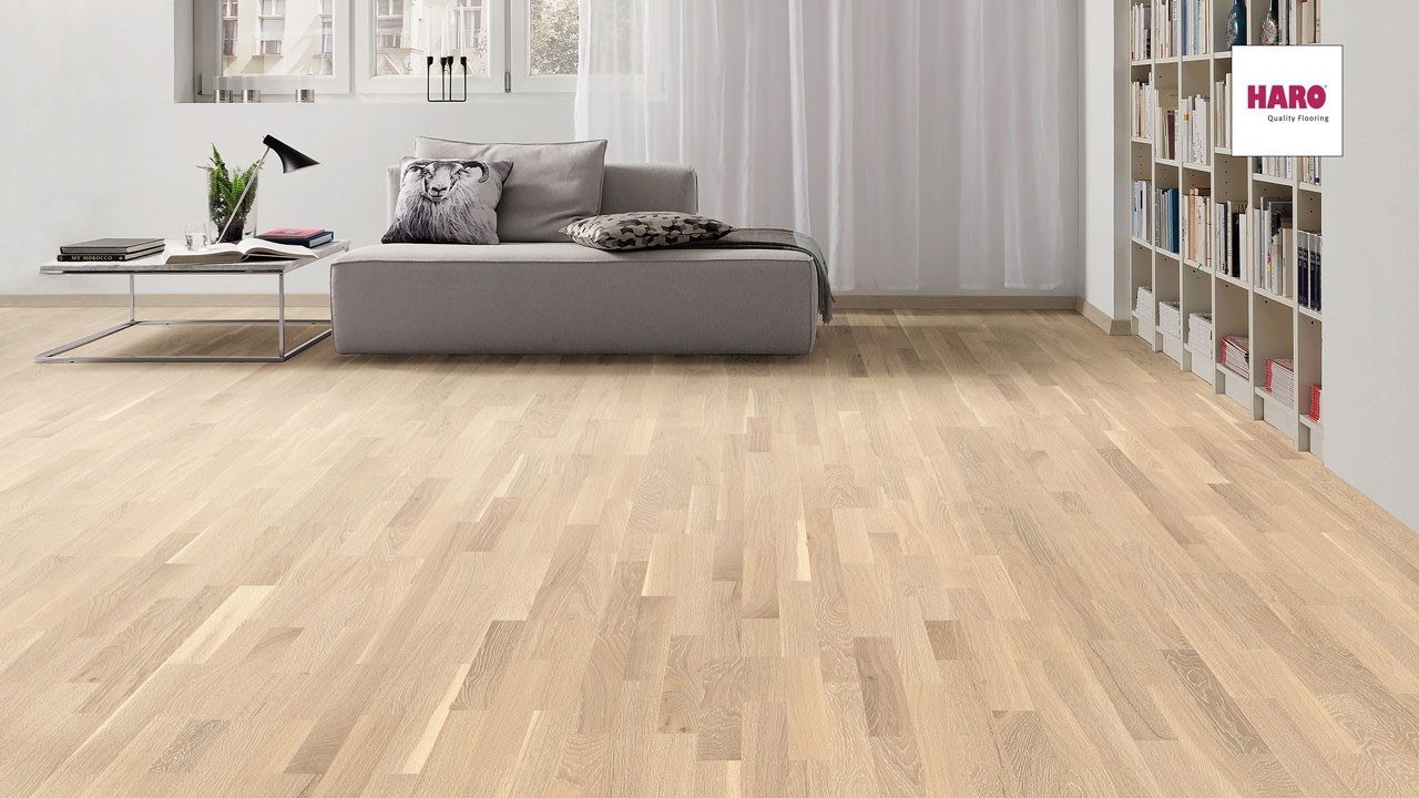 haro parkett schiffsboden 4000 eiche salinwei gekalkt parkett. Black Bedroom Furniture Sets. Home Design Ideas