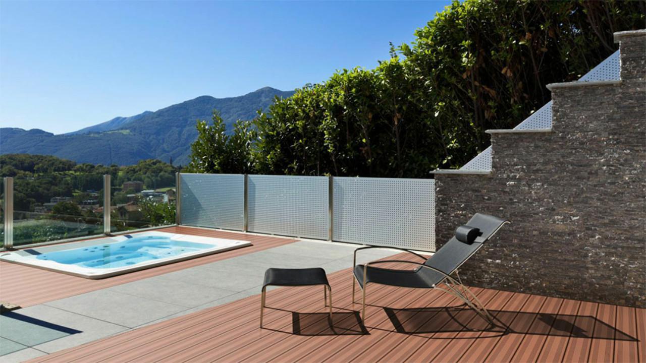 planeo wpc massivdiele hellbraun strukturiert franz sisch terrassendielen terrasse. Black Bedroom Furniture Sets. Home Design Ideas
