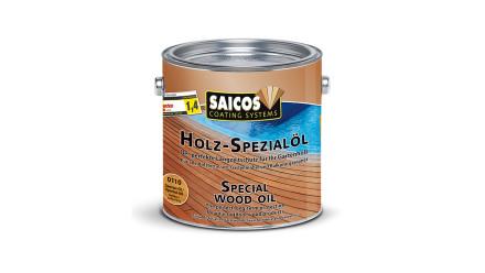 Saicos Holz-Spezialöl für Lärchen-, Zedern-, Douglasien- und Akazien-Holz 2,5 L