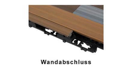 planeo WPC Wandabschluss-Set - UCD