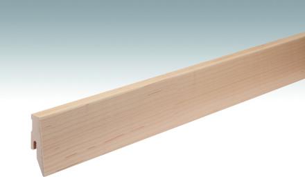 MEISTER Sockelleisten Fußleisten Ahorn kanadisch 027 - 2380 x 60 x 20 mm