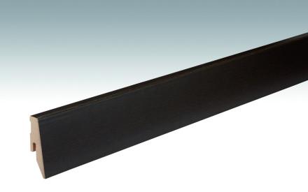 MEISTER Sockelleisten Fußleisten Eiche schwarzbraun 1009 - 2380 x 60 x 20 mm