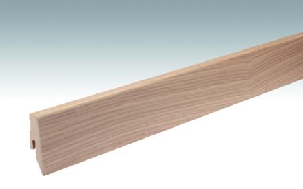 MEISTER Sockelleisten Fußleisten Eiche Optik gelaugt 1045 - 2380 x 60 x 20 mm