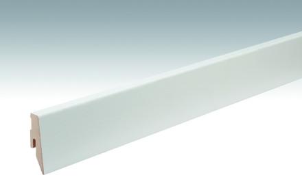 MEISTER Sockelleisten Fußleisten Esche reinweiß 1073 - 2380 x 60 x 20 mm