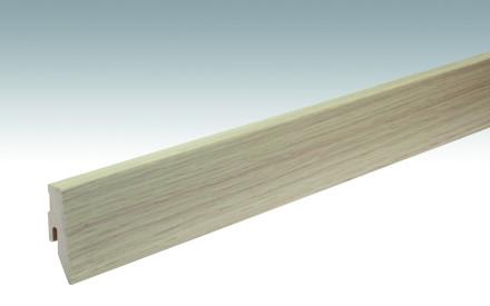 MEISTER Sockelleisten Fußleisten Eiche Optik gelaugt Nature 1085 - 2380 x 60 x 20 mm