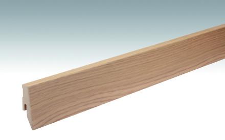 MEISTER Sockelleisten Fußleisten Eiche hell 1094 - 2380 x 60 x 20 mm