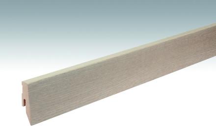 MEISTER Sockelleisten Fußleisten Eiche crème-grau Nature 1103 - 2380 x 60 x 20 mm