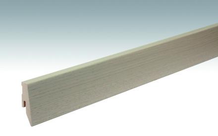 MEISTER Sockelleisten Fußleisten Eiche cremegrau 1116 - 2380 x 60 x 20 mm