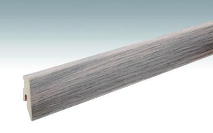 MEISTER Sockelleisten Fußleisten Eiche cremeweiß 1154 - 2380 x 60 x 20 mm