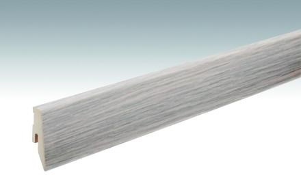 MEISTER Sockelleisten Fußleisten Eiche articweiß 1156 - 2380 x 60 x 20 mm