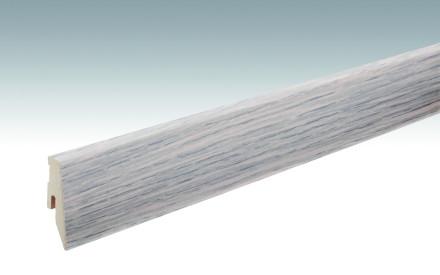 MEISTER Sockelleisten Fußleisten Eiche cremeweiß 1158 - 2380 x 60 x 20 mm