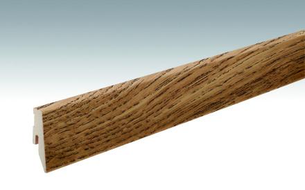 MEISTER Sockelleisten Fußleisten Eiche Lindura - 2380 x 60 x 20 mm