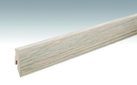 MEISTER Sockelleisten Fußleisten Eiche arcticweiß 1168 - 2380 x 60 x 20 mm