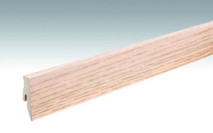 MEISTER Sockelleisten Fußleisten Esche weiß 1181 - 2380 x 60 x 20 mm