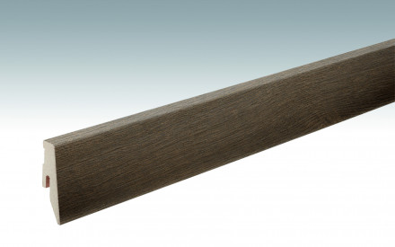 MEISTER Sockelleisten Fußleisten Eiche olivgrau 1185 - 2380 x 60 x 20 mm
