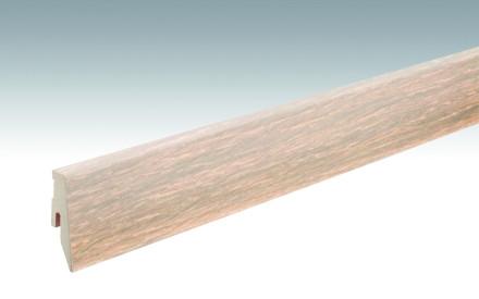 MEISTER Sockelleisten Fußleisten Eiche cremeweiß gekälkt 1187 - 2380 x 60 x 20 mm