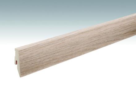 MEISTER Sockelleisten Fußleisten Eiche pearl 1189 - 2380 x 60 x 20 mm