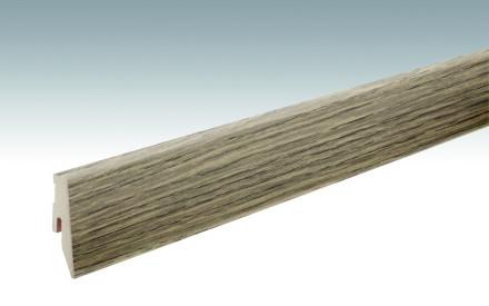MEISTER Sockelleisten Fußleisten Eiche lichtgrau 1211 - 2380 x 60 x 20 mm