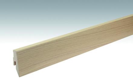 MEISTER Sockelleisten Fußleisten Eiche naturhell 1213 - 2380 x 60 x 20 mm