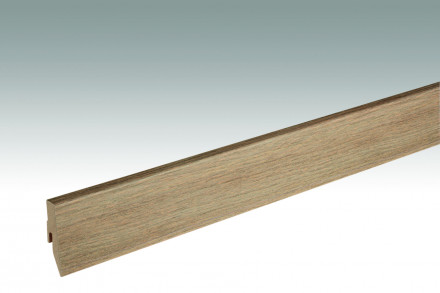MEISTER Sockelleisten Fußleisten Eiche greige 1215 - 2380 x 60 x 20 mm