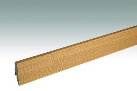 MEISTER Sockelleisten Fußleisten Eiche authentic 1217 - 2380 x 60 x 20 mm