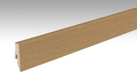 MEISTER Sockelleisten Fußleisten Eiche greige pure 1232 - 2380 x 60 x 20 mm