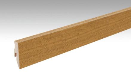 MEISTER Sockelleisten Fußleisten Eiche mittelbraun 1234 - 2380 x 60 x 20 mm