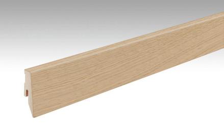 MEISTER Sockelleisten Fußleisten Eiche plain 1237 - 2380 x 60 x 20 mm