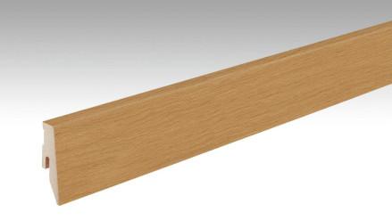 MEISTER Sockelleisten Fußleisten Eiche hellbraun 1239 - 2380 x 60 x 20 mm