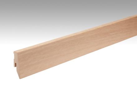 MEISTER Sockelleisten Fußleisten Eiche weiß 1068 - 2380 x 60 x 20 mm