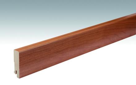 MEISTER Sockelleisten Fußleisten Kirsche amerikanisch 014 - 2380 x 60 x 16 mm