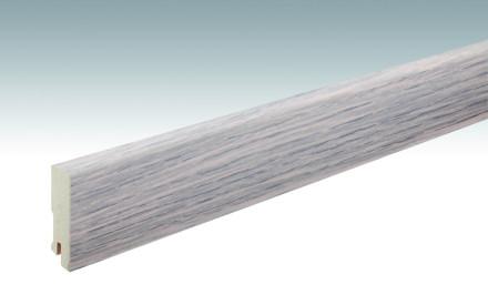 MEISTER Sockelleisten Fußleisten Eiche cremeweiß 1158 - 2380 x 60 x 16 mm