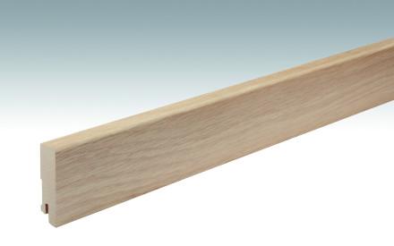 MEISTER Sockelleisten Fußleisten Eiche roh - 2380 x 60 x 16 mm