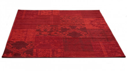 planeo Teppich Vintage rot