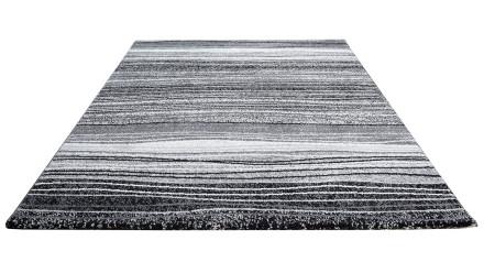 planeo Teppich Streifen Schwarz 140 x 200cm