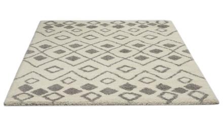 planeo Teppich Berber Grau