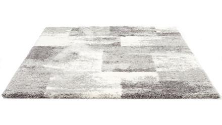 planeo Teppich Quadrat Anthrazit