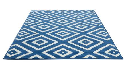 planeo Teppich Lotus Blau 120 x 170cm