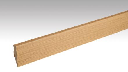 Meister Sockelleisten Fußleisten - Echtholz Eiche natur 1218 - 2500 x 60 x 20 mm