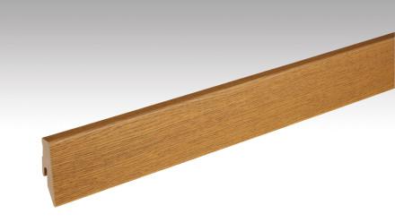 Meister Sockelleisten Fußleisten - Echtholz Eiche kupferbraun 1219 - 2500 x 60 x 20 mm