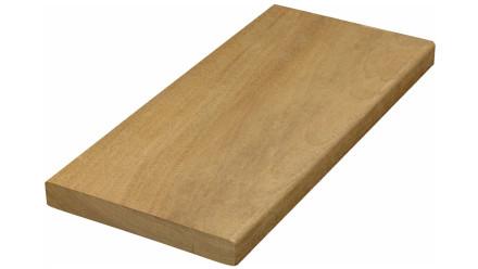 TerraWood Holzterrasse - IPÉ PRIME 21 x 145mm beidseitig glatt/eins. Geschliffen