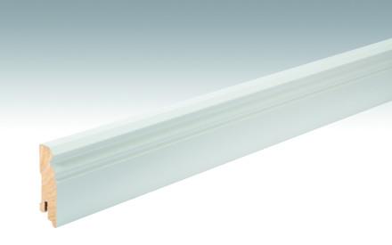 MEISTER Sockelleisten Fußleisten Weiß DF (RAL 9016) 2266 - 2380 x 60 x 18 mm