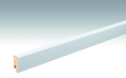 MEISTER Sockelleisten Fußleisten Weiß DF (RAL 9016) 2266 - 2380 x 38 x 16 mm